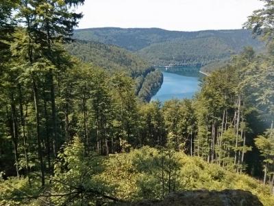 Ilmenau in het Thüringer Wald